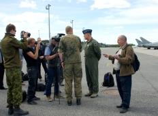 Учения BRTE-21 на авиационной базе Эмари. Интервью
