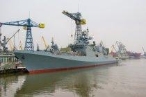 «Адмирал Эссен» начал швартовые испытания