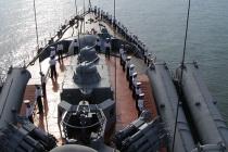 Учения кораблей ВМФ России и ВМС Египта