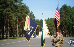 Смена командира десантников