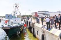 Новый корабль литовских пограничников