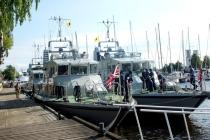 Британские корабли в Риге
