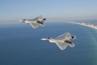 Четыре F-22 Raptors прибыли в Германию