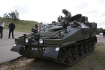Боевые машины CVRT прибудут в Латвию осенью