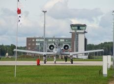 Авиабаза Лиелварде: A-10 Thunderbolt II