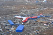 Зам комфлота проверил строительство на острове Котельный