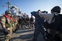 Учения Sea Breeze 2015 ВМФ США и Украины