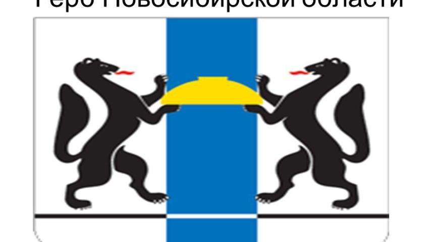 Герб Новоссибирской области
