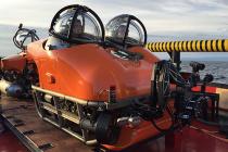 Испытание подводных обитаемых аппаратов «АРС-600»