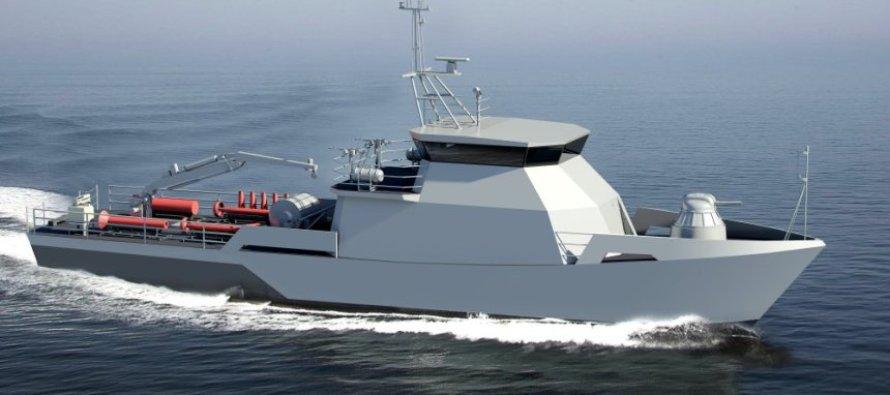 Тральщик для ВМС Казахстана спустят на воду в Петербурге