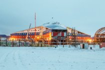 Забастовка на строительстве военных объектов в Арктике