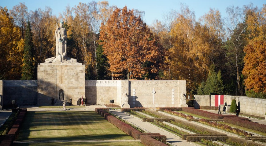Братское кладбище в Риге