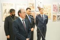 Встреча Раймонда Бергманиса с послом Армении
