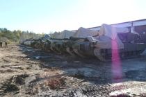 Американские военные и техника прибыли в Литву