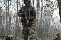 Cпецназ ЗВО уничтожил колонну условных террористов