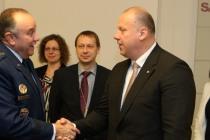 Генерал Бридлав встретился с министром обороны