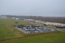 Воздушный командно-контрольный центр прибыл в Лиелварде