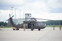 Передислокация вертолётов из Рижского порта