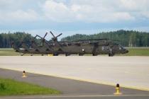 Ротация вертолётов «Black Hawk» в Латвии