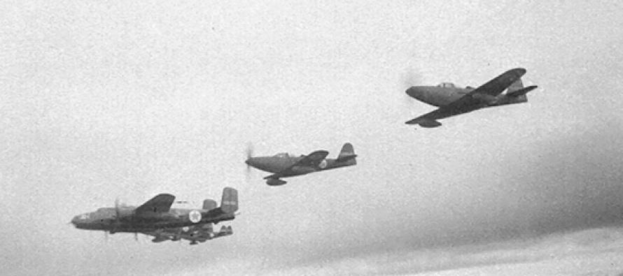 Найдено место крушения бомбардировщика DA-7