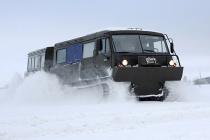 В арктическую бригаду СФ поступили новые вездеходы