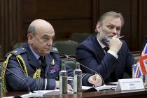 Встреча с британцами в Генштабе ВС РФ