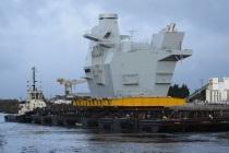 Продолжение строительства авианосца Prince of Wales