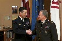 Командующий Вооружённых сил Швеции посетил Латвию