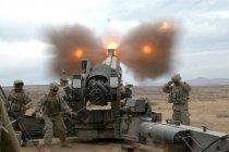 Применение гаубиц в береговой артиллерии США