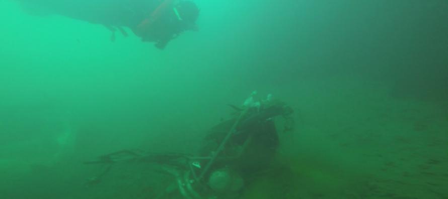 Украденные товары найдены на дне гавани Мальме
