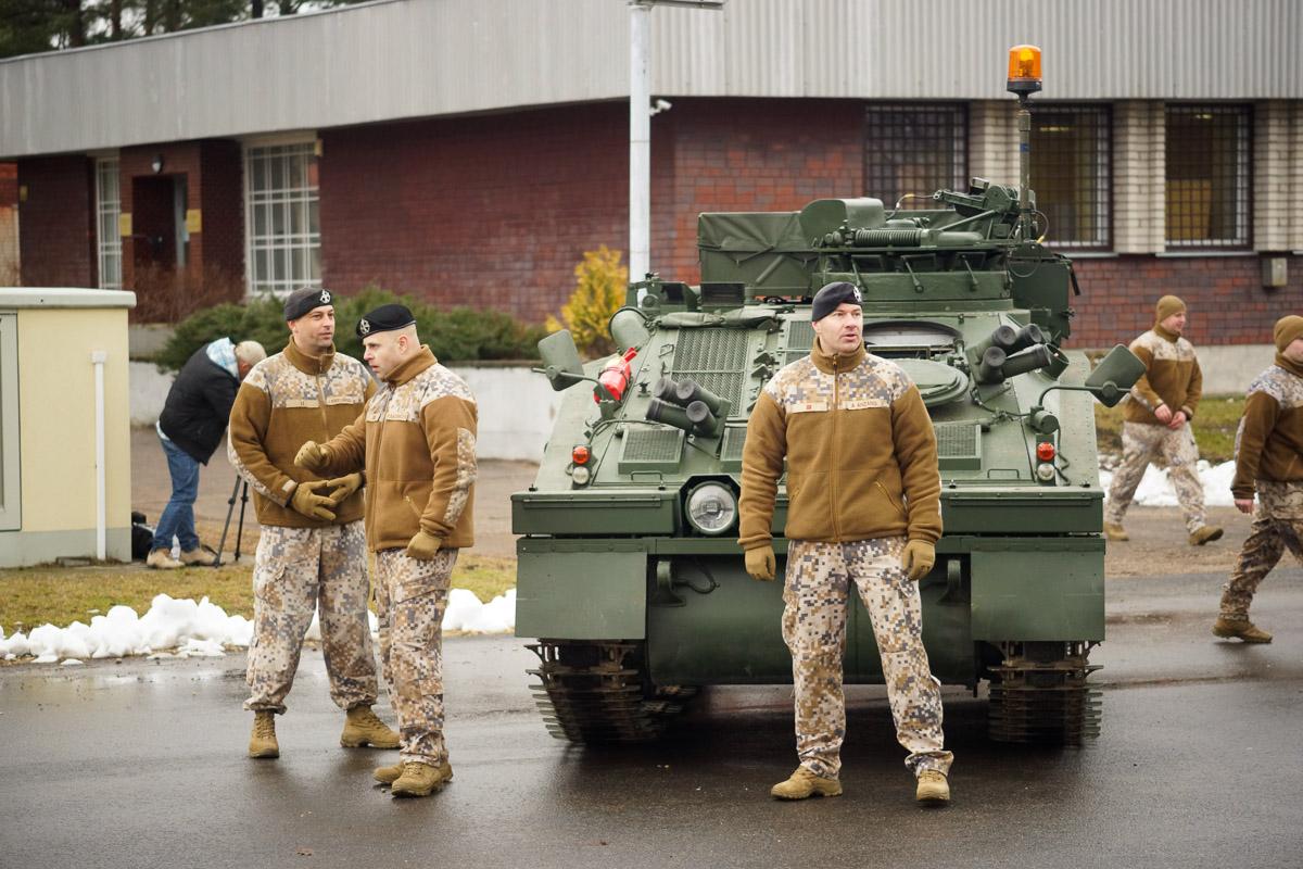 В Адажи начались курсы по вождению и обслуживанию CVRT