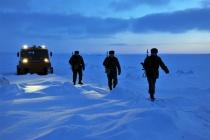 Испытания новой военной автотехники в Арктике