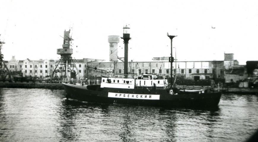 Плавучий маяк Ирбенский