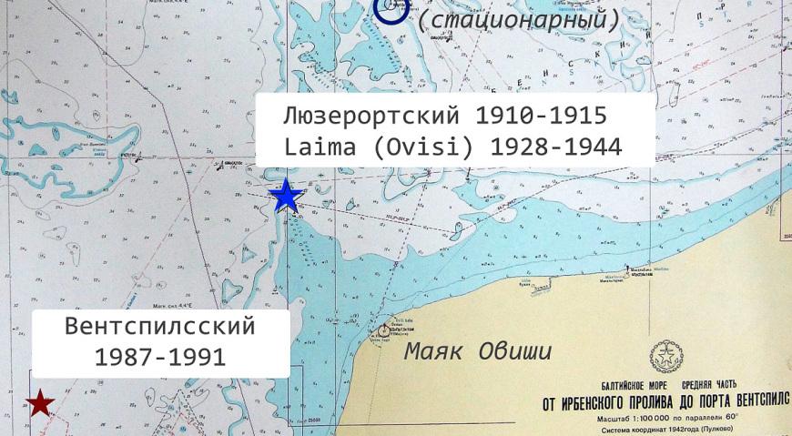 Карта плвучих маяков