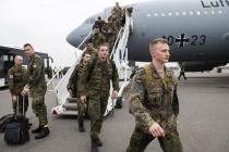 Немецкие войска прибыли в Литву