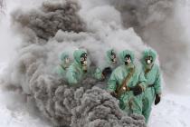 Учения специалистов химической защиты