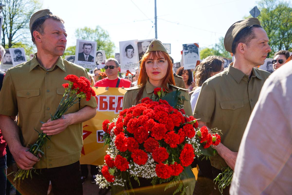 9 мая в Риге: Бессмертный полк