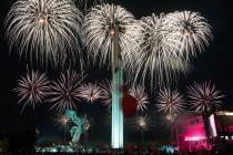 9 мая в Риге: Салют в Парке Победы