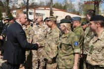 Министр познакомился со всеми батальонами