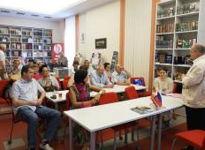 Дни русской культуры в Латвии: Встреча с Юрием Мелконовым