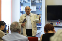 Встреча в библиотеке фонда «Русский мир»