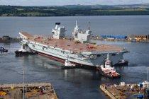 Жаропрочные палубы британских авианосцев