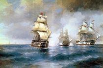 Победа брига «Меркурий» у берегов Босфора