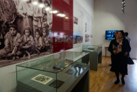 Открытие выставки «Геноцид армян» в музее Холокоста