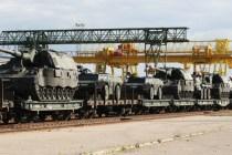 В Литву прибыли самоходные гаубицы PzH2000