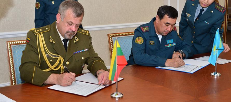 Сотрудничество между Литвой и Казахстаном