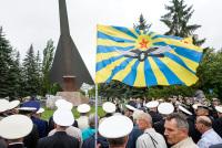 100 лет Морской авиации России: Церемония у памятника