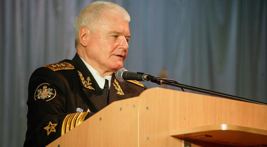 Бывший командующий Балтийским флотом адмирал Егоров Владимир Егорович