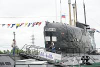 На подводной лодке Б-413 в Музее Мирового океана