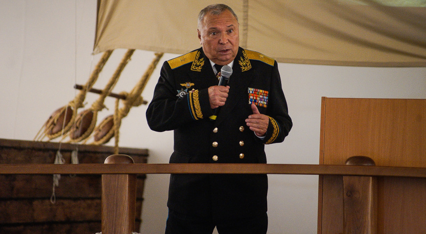 Генерал-майор Абрашкин Николай Митрофанович